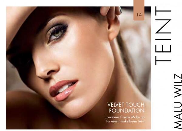 Malu Wilz Velvet Touch Foundation Cinnamon Beauty Nr.14 Probe