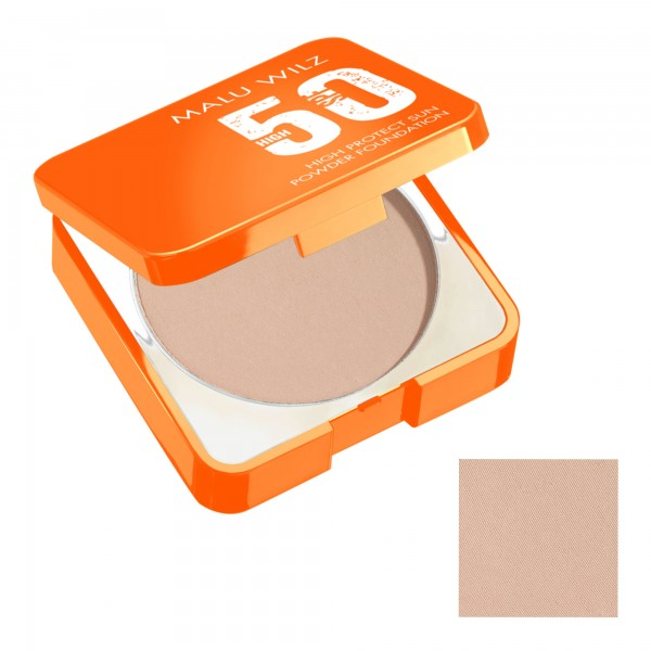 Malu Wilz High Protect Sun Powder Foundation SPF50 Nr.60
