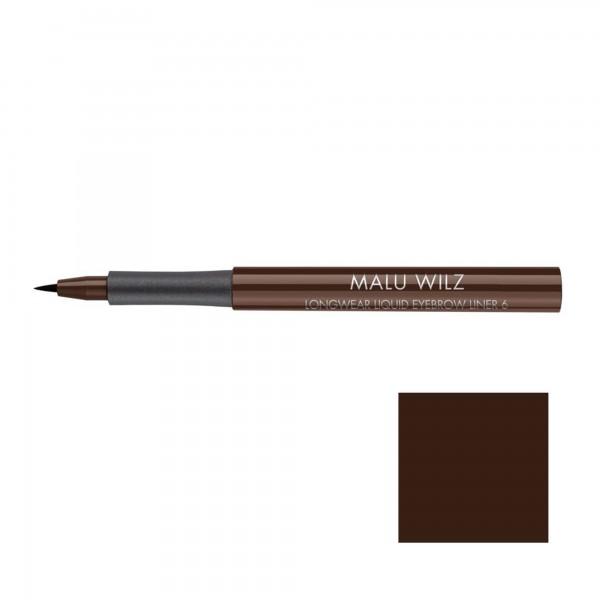 Malu Wilz Longwear Liquid Eyebrow Liner Nr. 06 roasted coffee